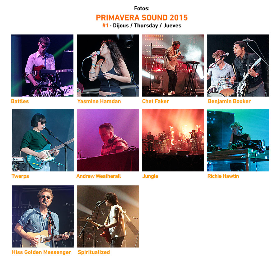 Primavera Sound 2015 #1 · Thursday