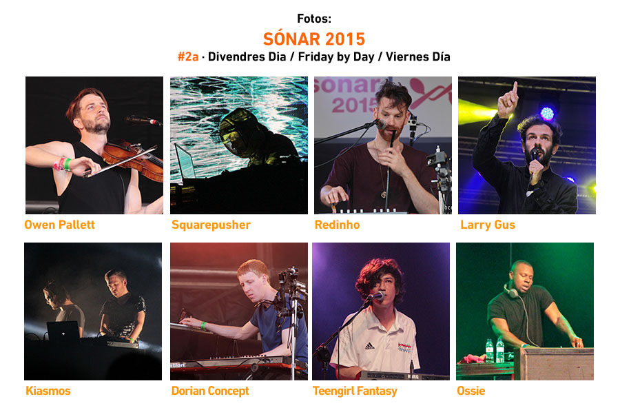 Sonar 2015 Friday