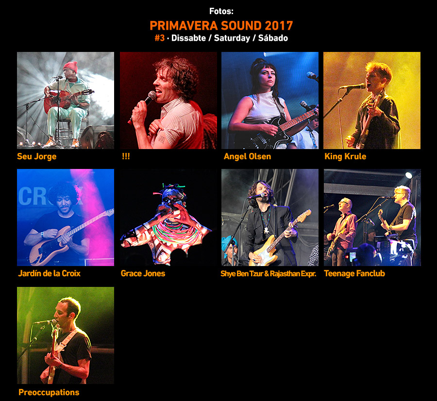 Primavera Sound 2017 Dissabte / Saturday