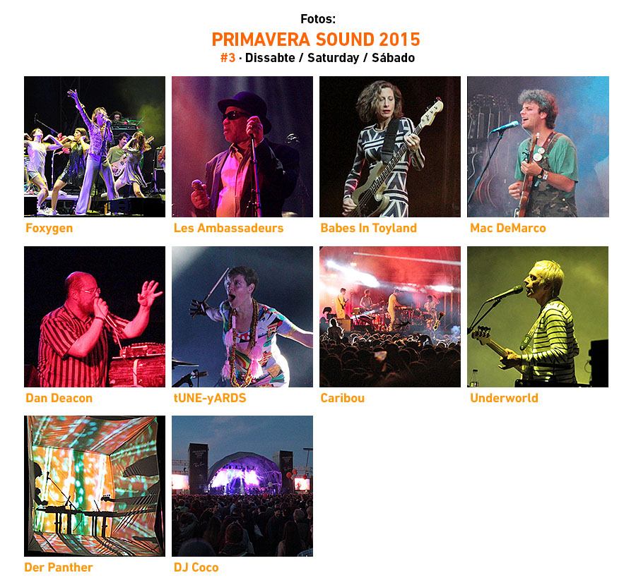 Primavera Sound 2015 #3 · Saturday